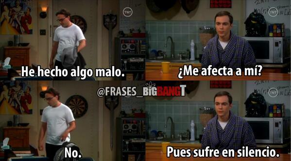 The Big Bang Theory On Twitter Sufre En Silencio Httptco