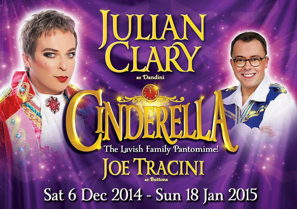 "RT @joetracini: ""@WolvesGrand: Hollyoaks' @JoeTracini joins @JulianClary in our #panto! Tickets: http://t.co/uwC0x9rzmz http://t.co/c7EuCp7…"