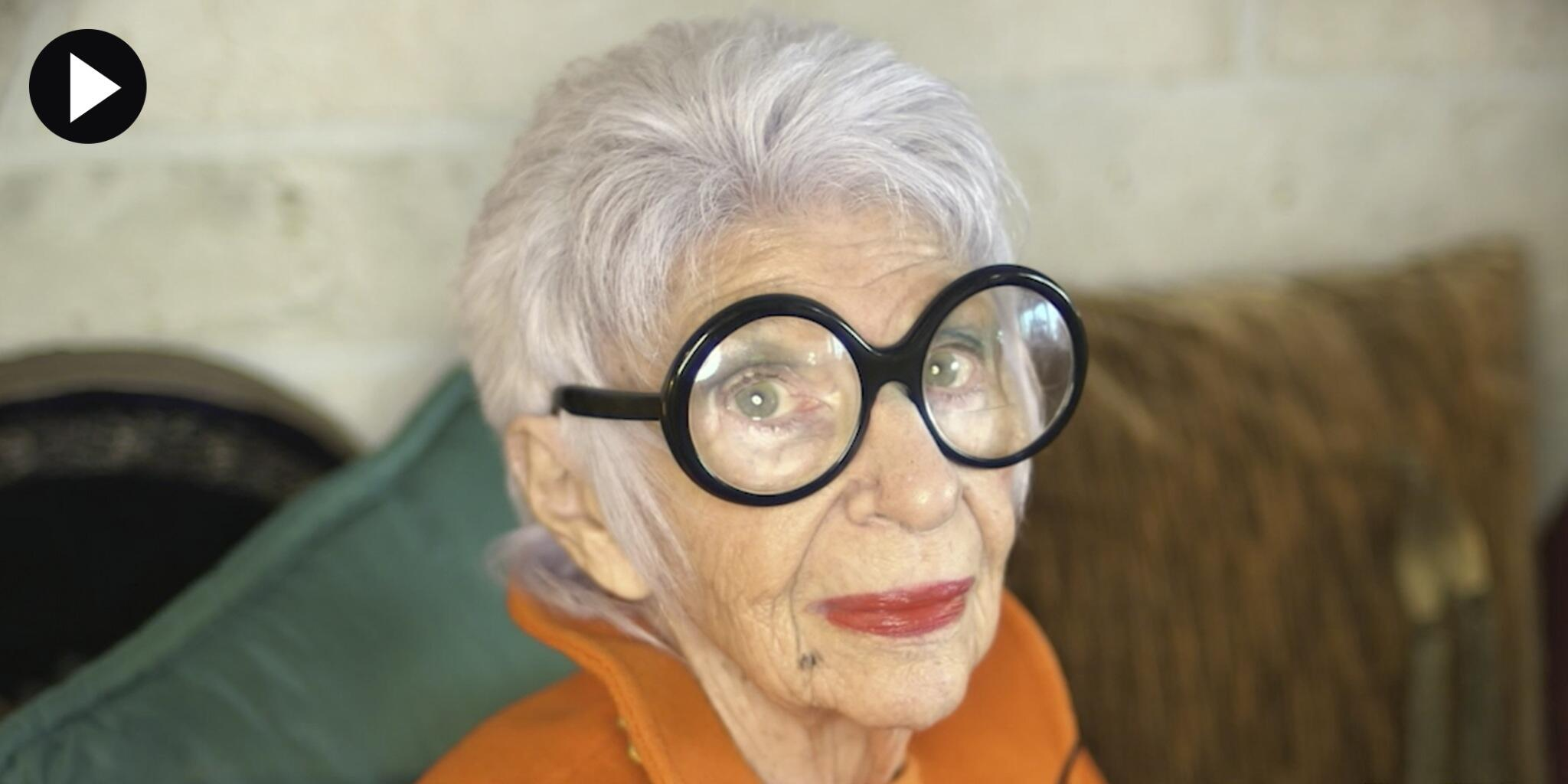 Watch Iris Apfel play dress-up with Matisse: http://t.co/7uDYYU9iFz http://t.co/fqjN6en0xY
