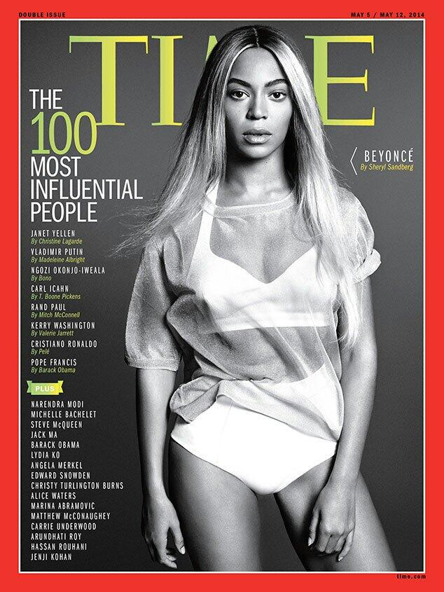 Here is BEYONCE on the cover of @TIME 100 most influential people issue #Time100 http://t.co/qmd1PdflfN