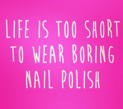 "Polish Quotes: Glitties Nail Art On Twitter: ""Life Is Too Short To Wear"