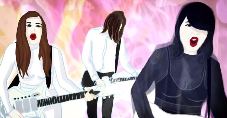 Trip into sexy hyperspace with the new @dumdumgirls video, premiering here: http://t.co/0cal64cK4a http://t.co/HIl0hUkTk8