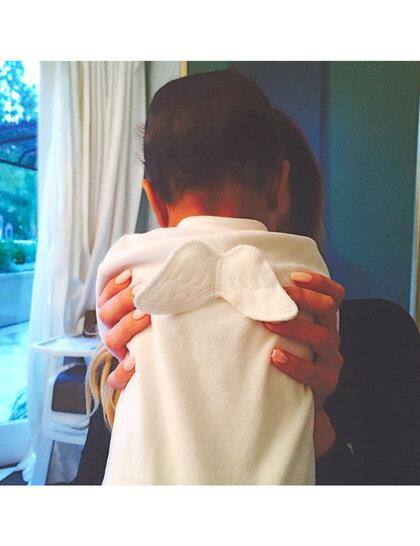 This little angel is rapidly becoming our favourite member of the Kardashian clan http://t.co/kmHueDrXgm http://t.co/VZWFJCMpfh
