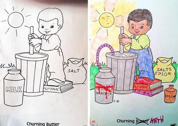 BuzzFeed On Twitter 11 Utterly Twisted Colouring Book Corruptions