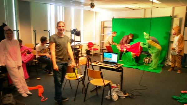 Just another day in the life of a #minorklm docent... @Fontys http://t.co/tKxEJVJbBb