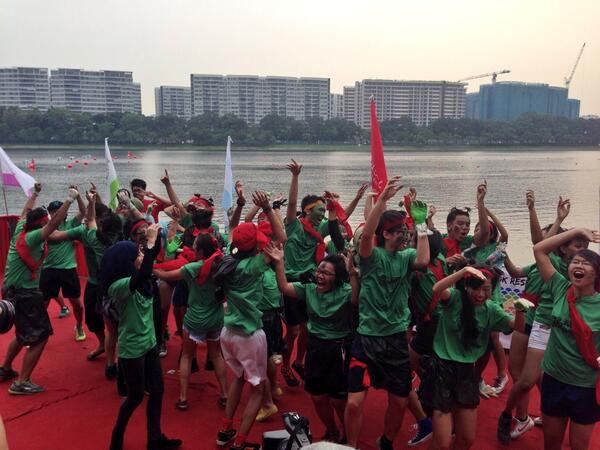 School of Applied Science wins Best Spirited School! #temasekpoly #TPRegatta #tp http://t.co/XEiOUpuRZ8