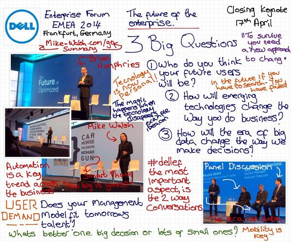 Thumbnail for Dell Enterprise Forum EMEA 2014 #Day3