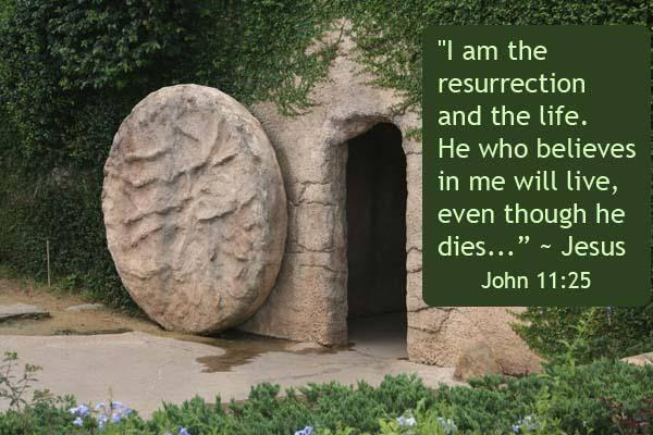 I am the resurrection and the life. He who believes in me will live, even though he dies. John 11:25 via @YWAMEngland http://t.co/KCSYDnTLDv