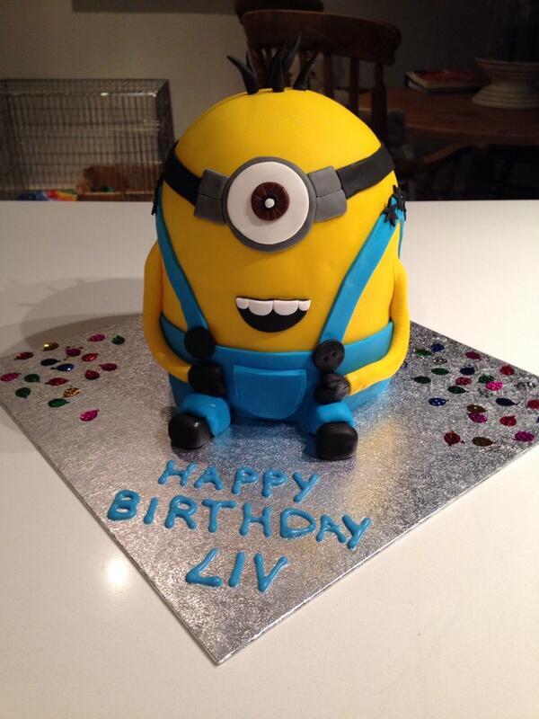 Emily on Twitter waitrose baked a mini minion cake SpringBaking