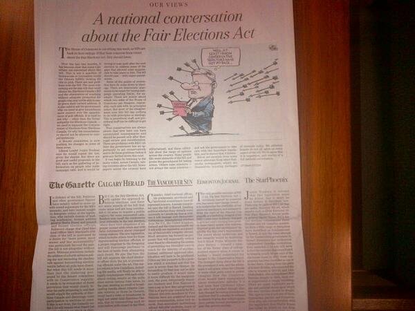 Today's citizen editorial joins 5 other cdn newspapers in opposing #Unfairelxnsact #cdnpoli  http://t.co/MJq3JdtgSq http://t.co/7AFOHK7fpj