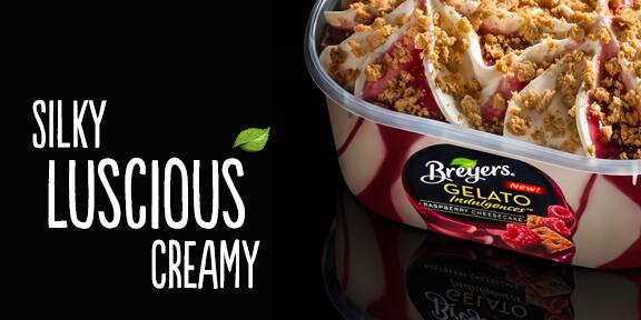 Cheesecake gelato, raspberry sauce & graham crumbles. Perfect ingredients for date night at home. #GelatoLove http://t.co/ER4c4Tbf8u
