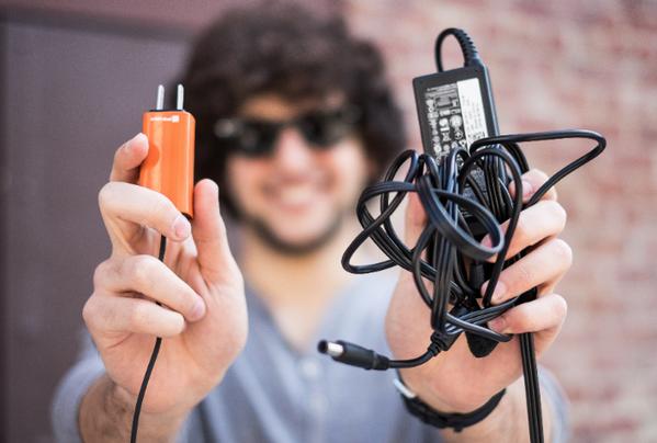 Meet the world's smallest laptop charger by @FINsix . http://t.co/UJ9XA2gCsH #Kickstarter #Design #Tech http://t.co/kJmIQqmPLD