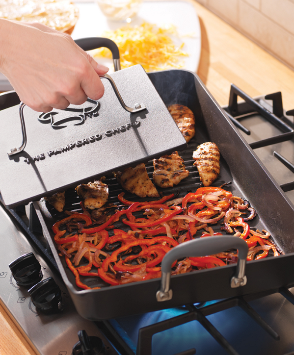 Pampered Chef on Twitter Love our new Double Burner Grill Pan
