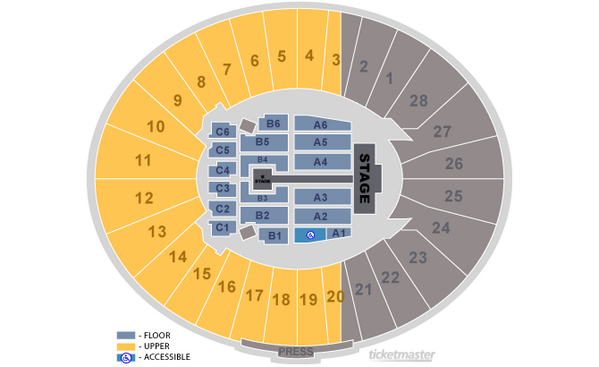 Rose bowl stadium on twitter bliamstyles seats in b1 are closest