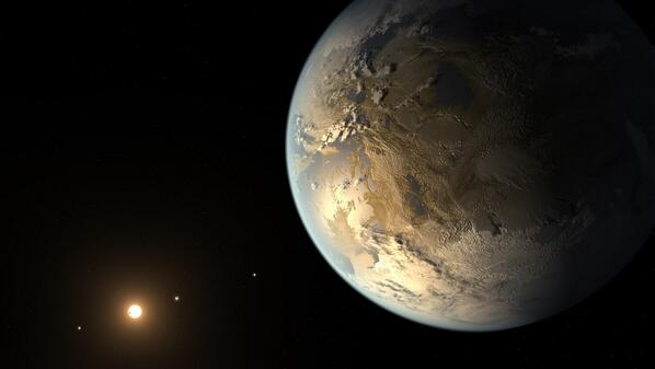 An Earth-like planet? @NASAKepler found its 1st Earth-size planet in the habitable zone!  http://t.co/tDAxyC6oyv   http://t.co/RTw65Qy9Ef