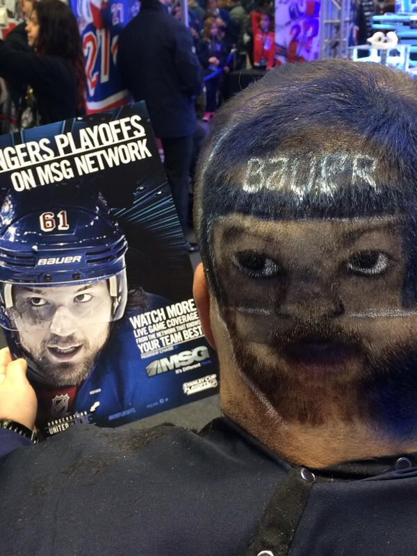 New York Rangers On Twitter Wowis Haircut Is Something Else