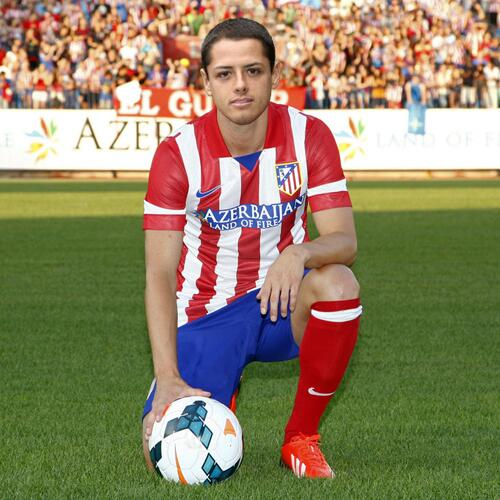 Omar villegas on twitter mexicoworldcup atletico madrid so he can wear red white stripes - Canomar madrid ...