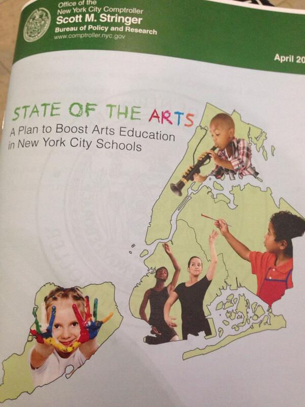 NYS Comptroller Stringer is closing #F2F2014 with closing remarks on his State of the Arts report. http://t.co/CGP4NJ0Oxd