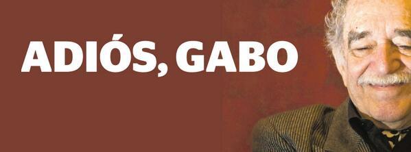 #AdiósGabo Se fue una de las figuras más importantes de la literatura universal http://t.co/UBHRwhx1zt http://t.co/gnkK2m2vBj