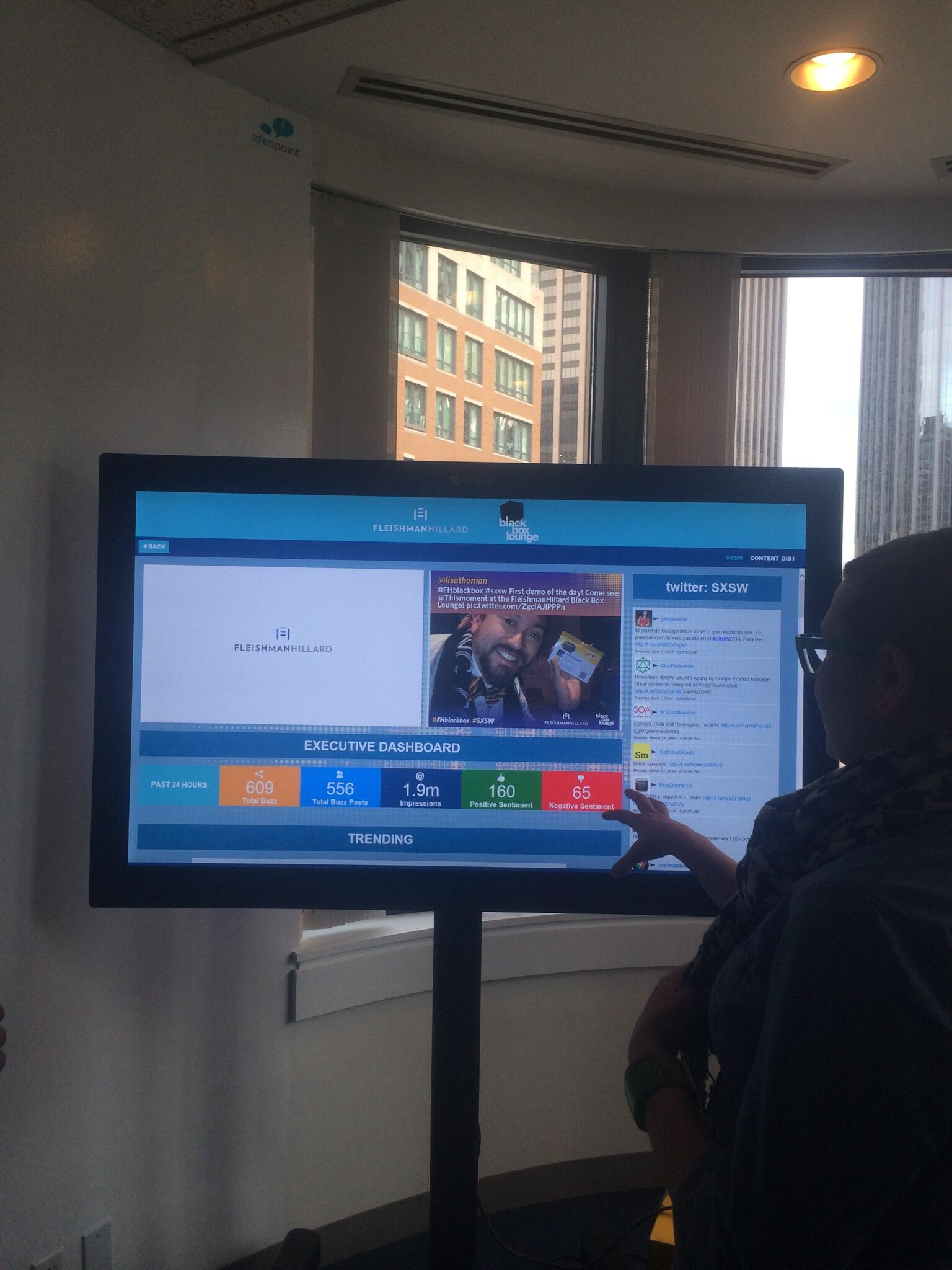 RT @djenningspr: Checking out a demo of #FHBlackBox at #Austin2Boston http://t.co/HVzmljqb63