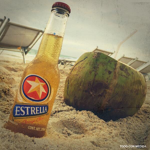 En la #Playa sí está chido sudar. http://t.co/JcAr9gFviU