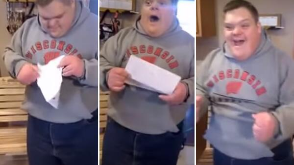 Student with Down syndrome achieves one of his lifelong dreams -- getting accepted to college. http://t.co/FhGHXiET0T http://t.co/uwYtkM8uKn