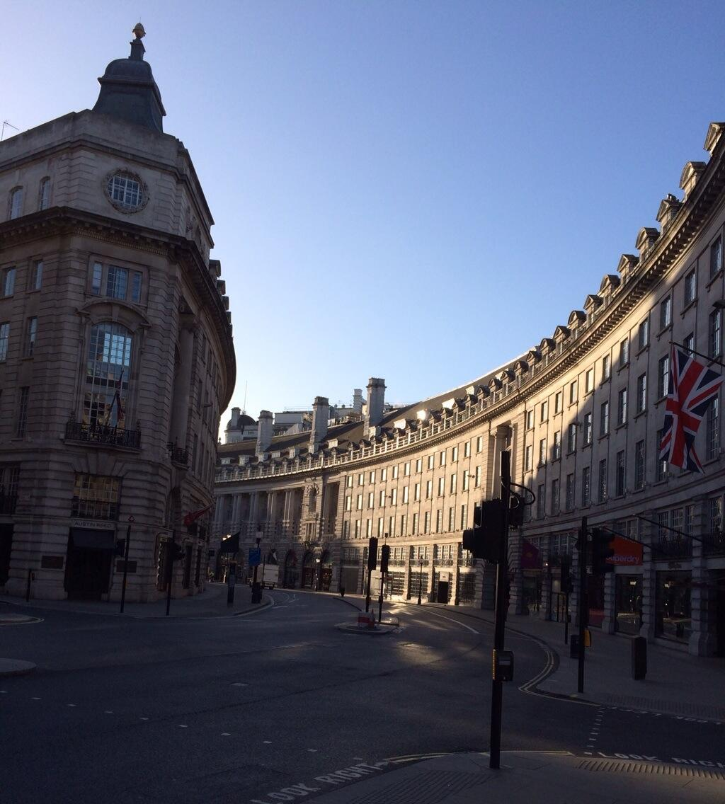 If I only Regent Street were like this every morning … http://t.co/azmONdh8gx