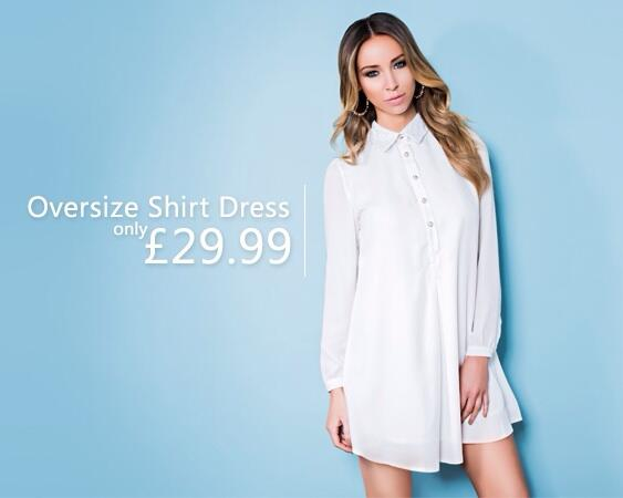 SOLD OUT 3 x over! Last chance to order... http://t.co/hFozbn6GOy - @LaurenPope Oversize Shirt Dress £29.99 ❤️ http://t.co/9MzS337w6N