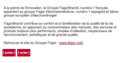 Le site de Fagor pas encore à jour http://t.co/17dS5N9TPq #cevital http://t.co/QbAdEEtobN