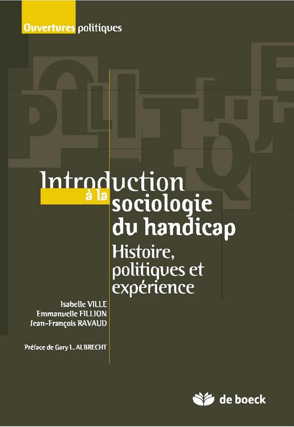 "Handicaps & Soci�t�s on Twitter: ""RT. Introduction � la sociologie ..."