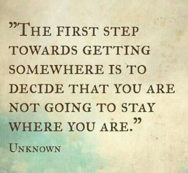 It's not always an easy decision to make but once you do, never look back... http://t.co/YPhCnMynWN