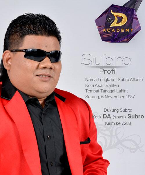 """Download Lagu Thanks You Next: D'Academy 4 On Twitter: """"Dukung #SUBRO Melalui SMS"""