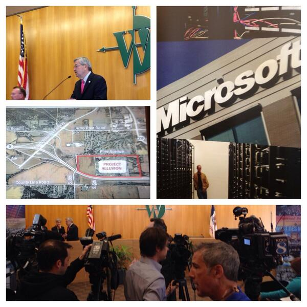 Iowa announces economic development incentives for Microsoft data center and other projects totaling $1.2 billion