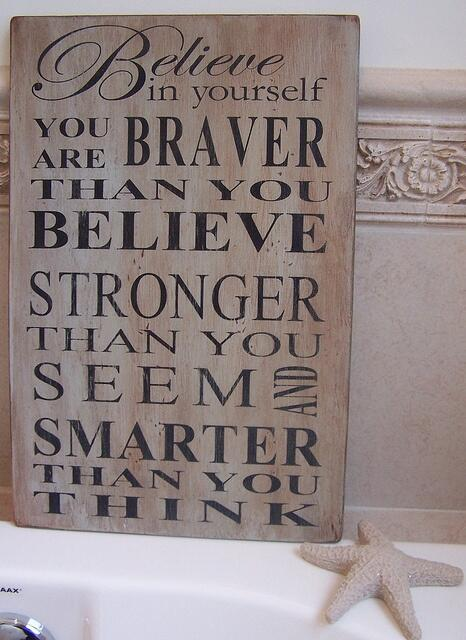 BELIEVE in yourself!! http://t.co/4LmwCFEwIj