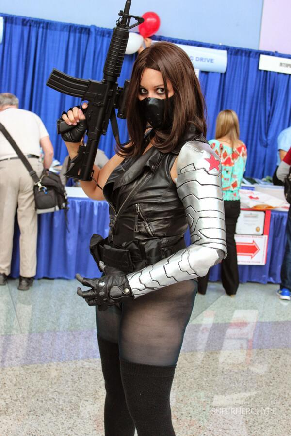 SummaryWinter Soldier Cosplay Wondercon 2014