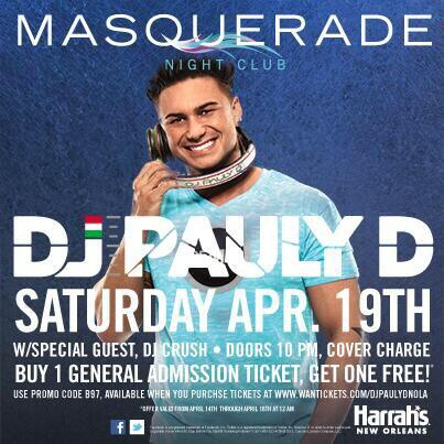 What Songs U Guys Wanna Hear Tomorrow In NOLA ??!! @harrahsnola @MasqueradeNOLA http://t.co/dtgRYel8cR