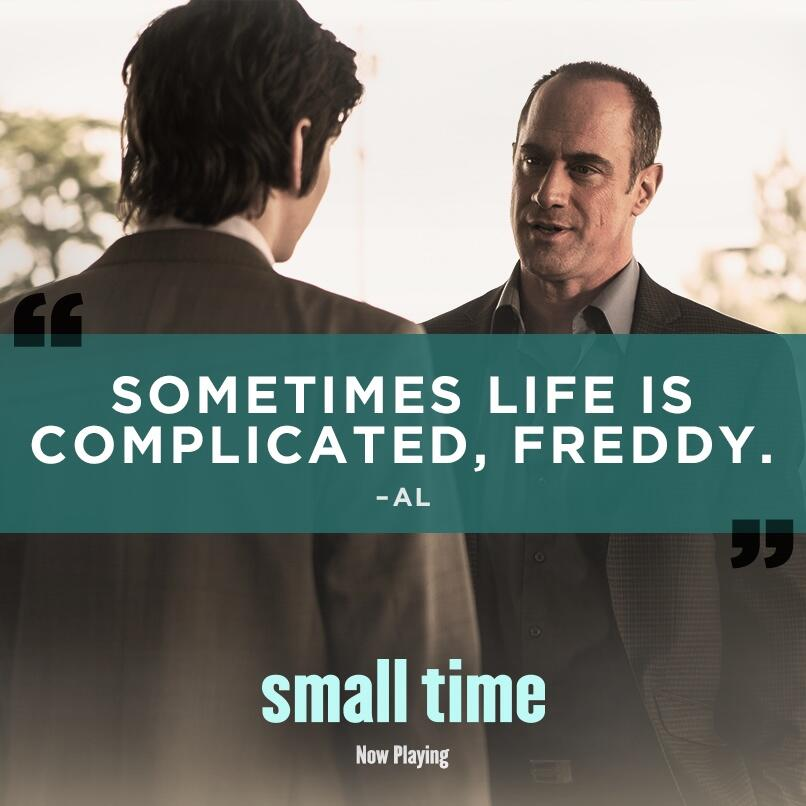 RT @smalltimemovie: Don't miss  @Chris_Meloni and @devbostick as father and son in #smalltime - Now Playing! http://t.co/dglVLV5ZqZ