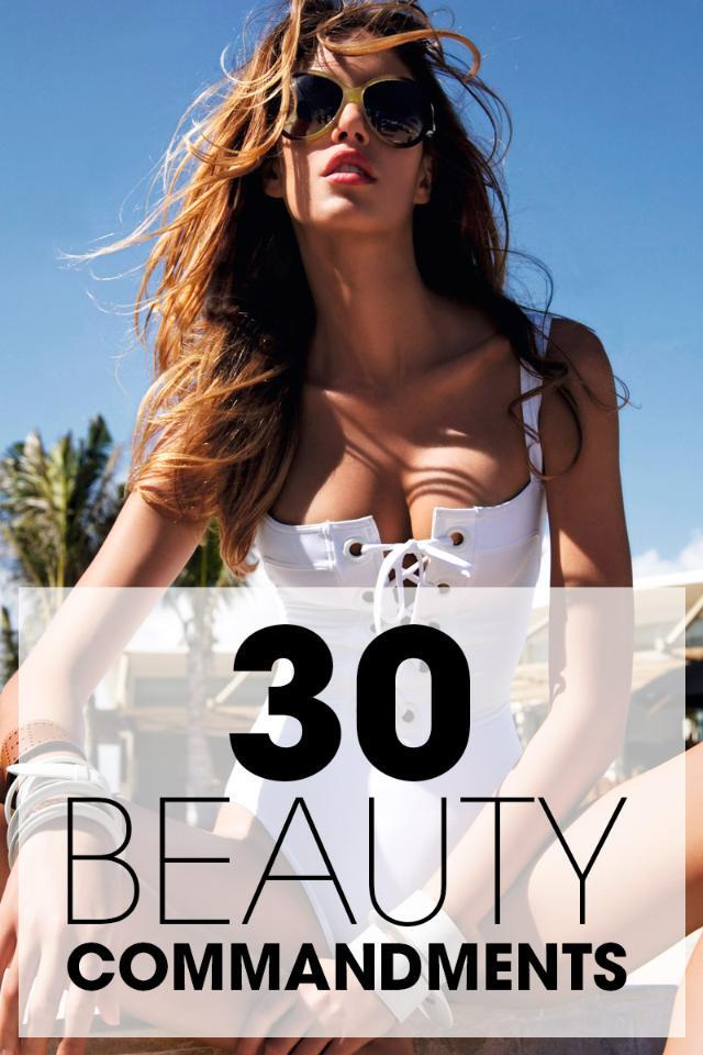 30 things about beauty every woman must know by 30: http://t.co/TKJ2NomYUl http://t.co/j79EBebzz9