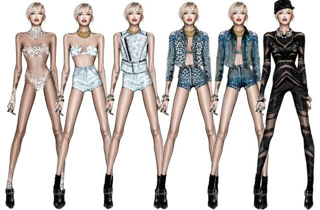 We are SO excited for @MileyCyrus's #BANGERZ tour after seeing these super sexy concert looks: http://t.co/XbxR3B8K6X http://t.co/7P7RGwYjxp
