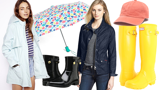 Rainy day chic! The cutest wet-weather gear: http://t.co/zyYABSnwgi http://t.co/COEFhryLfw
