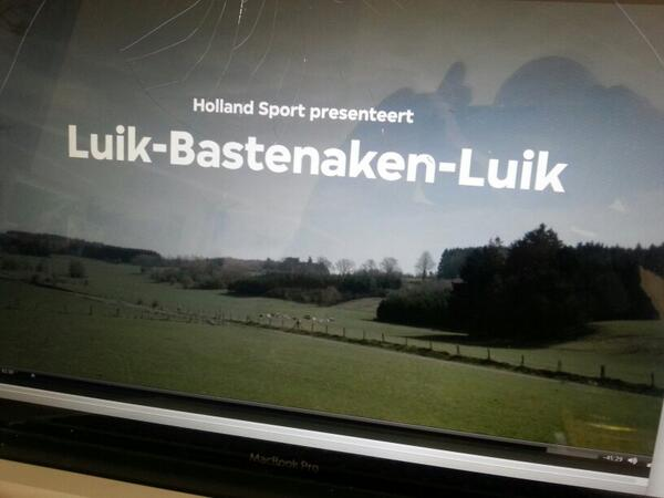 Montage van Holland Sport Special over Luik - Bastenaken - Luik. Donderdag 24 april op tv, 21.30 op Ned3, #vpro. http://t.co/4mCqwJADAB