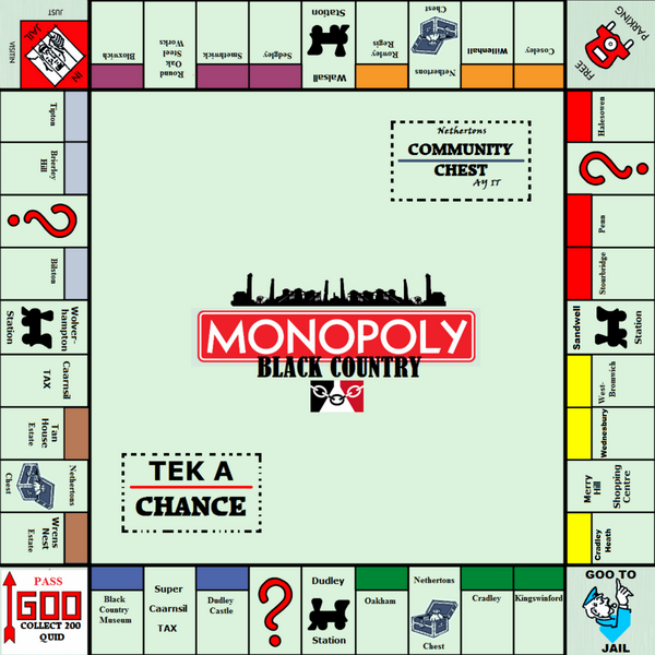 Black Country Day On Twitter Quot Black Country Monopoly