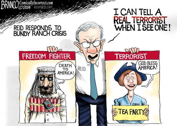 Harry Reid knows Terrorists:    #BundyBanch #tcot http://t.co/tAKOYNKj6v