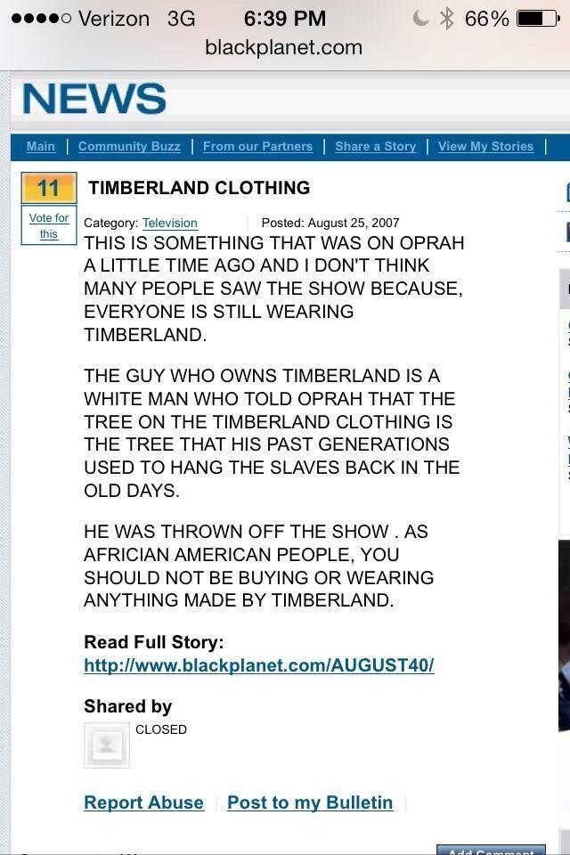If this is true, i think i might burn my tims. That is disgusting. http://t.co/oEa39WuyaI