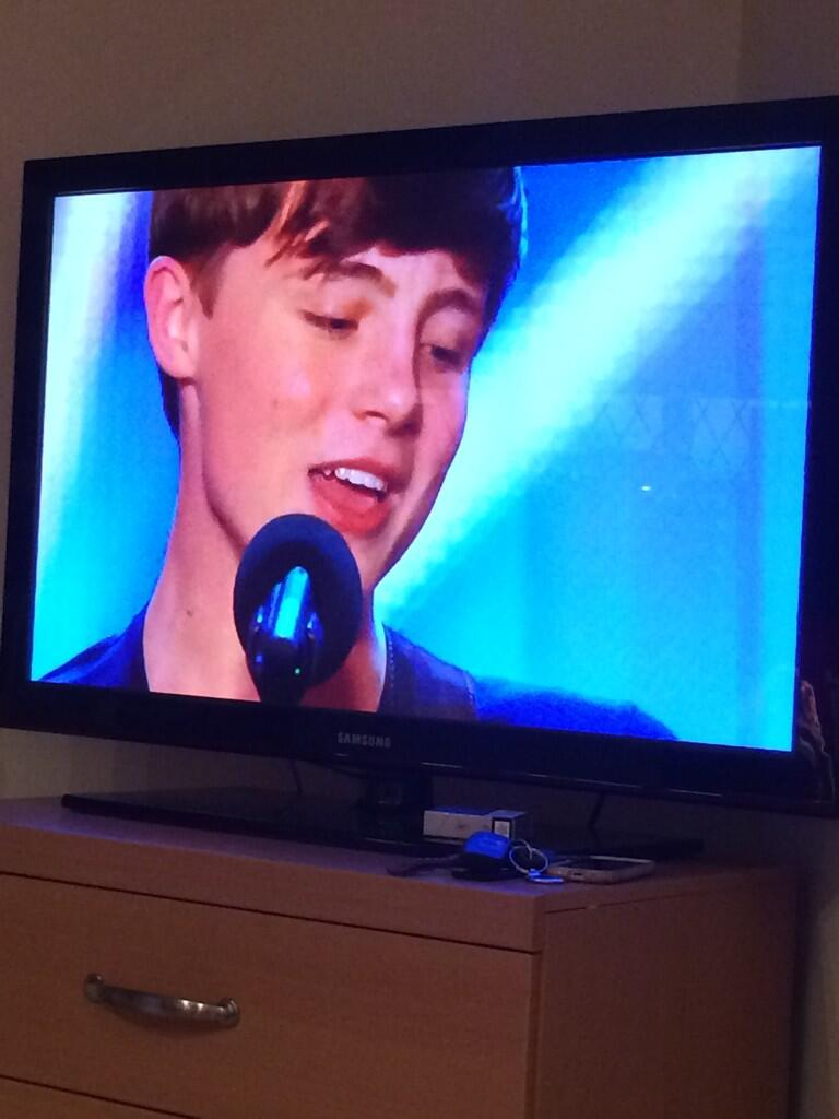 Well done @jamessmithvocal we're all routing for ya!!! #jamestowinbgt @GotTalent http://t.co/DUXBA1JYDM
