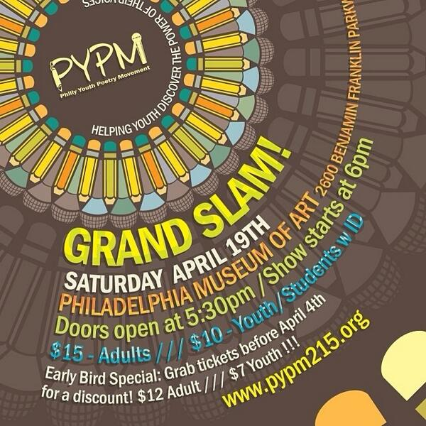 Tonight! PYPM Grand Slam Finals! Get there early to buy tix. This event will be sold out. http://t.co/NKazM5ZFXS