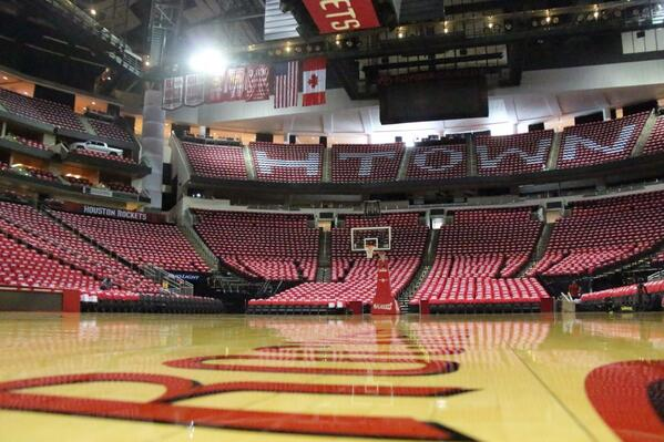 "houston rockets on twitter: ""toyota center decked out with t-shirts"