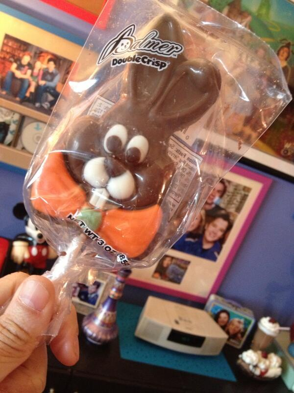I am not a violent person but I seriously can't wait to bite the face off of this rabbit! #yayeaster http://t.co/zf7F1g6B9d