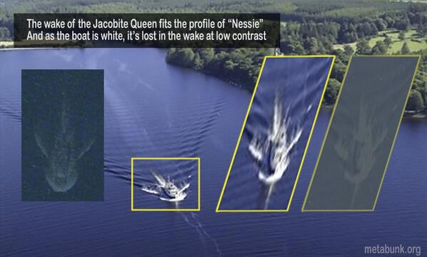 picture of explanation of loch ness monster sighting