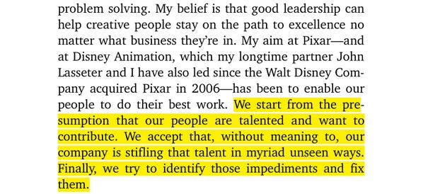 Ed Catmull on nurturing creativity. I've been looking forward to this book an awful lot. http://t.co/KKJHSs4jKU